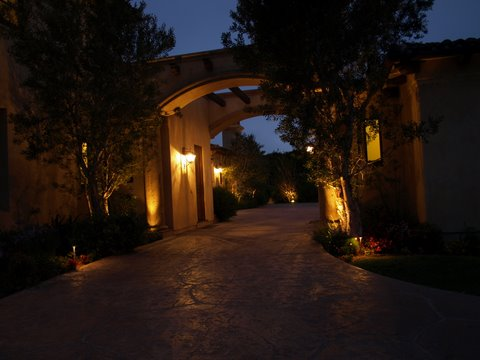 Conejo Valley Landscape Lighting Modern Landscape  Lighting