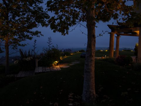 Conejo Valley Landscape Lighting Pathways